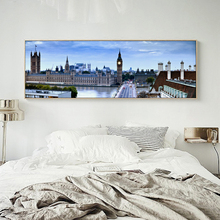 Scenery City Architecture Photography Canvas Painting Art Print Poster Picture Wall Decoration Modern Home Decoration Paintings