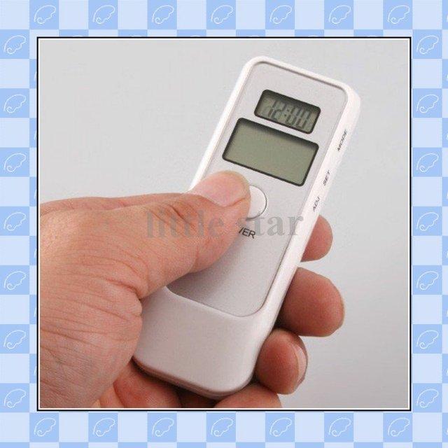 10pcs/lot, LCD Digital Alcohol Breath Tester Analyzer Breathalyzer,freeshipping