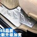 Cromo guardas entrada da porta sills limiares para a Toyota Highlander 2008 2009 2010 2011 2012 car styling acessórios auto