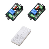 AC220V 110V 1CH RF Wireless Remote Control Switch Relay Receiver Transmitter For Appliances Gate Garage Door
