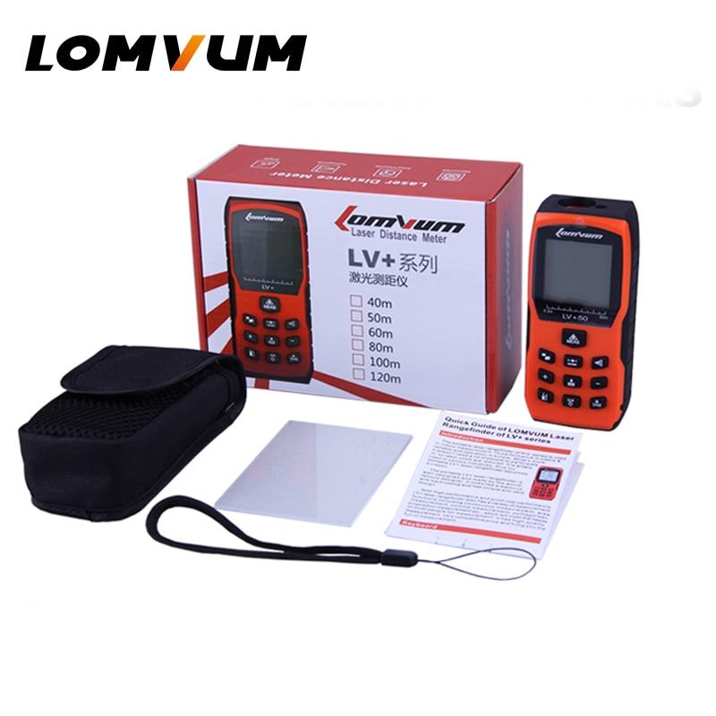 Télémètres Laser LOMVUM mesureur de Distance Orange compteur de Distance Laser numérique portable bulles électroniques