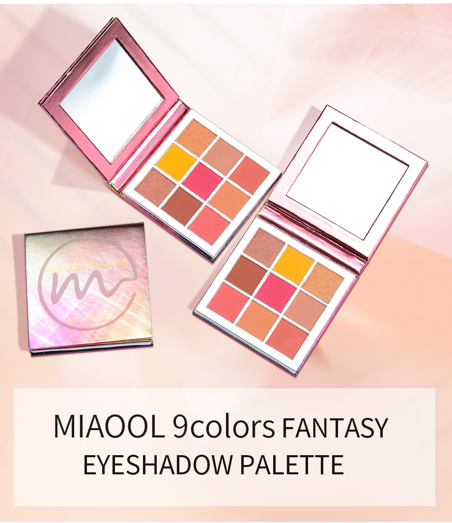 Beauty & Health Miaool Obsessions Palette Topaz 9 Colors Shimmer Matte Eyeshadow Palette Beauty Precious Stone Mini Makeup Eye Shadow Eye Shadow