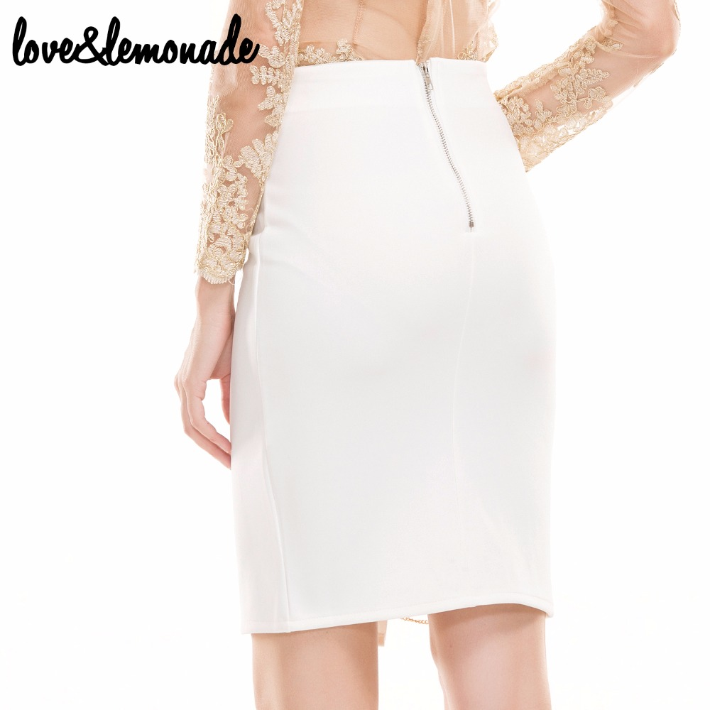 95fd6f6ff5 Love&Lemonade Gold Chain Cut Out Slim Skirt TB 9186-in Skirts from Women's  Clothing & Accessories on Aliexpress.com | Alibaba Group