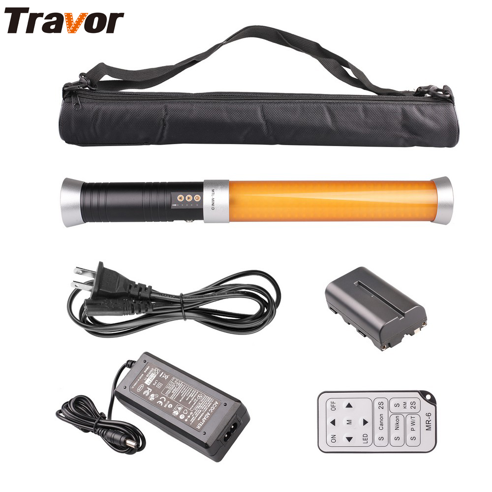 Travor BiColor Portable Hand-LED-Videoleuchte 160 LED 3200K 5600K - Kamera und Foto