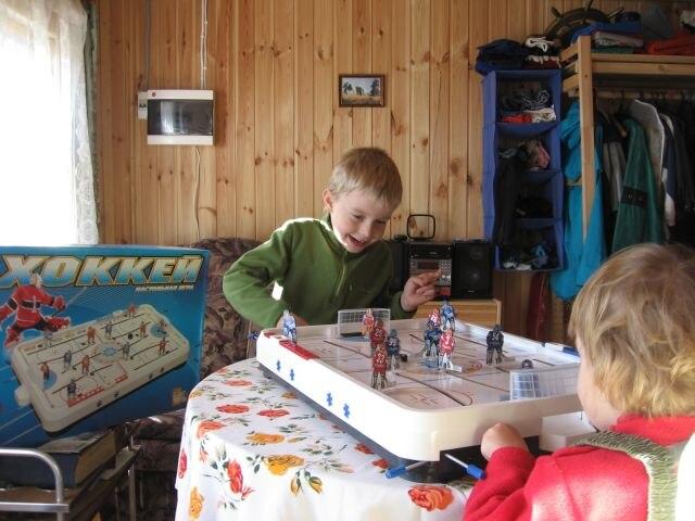 Tableau glace mini hockey jouet jeu bureau jeu interactif pour deux bataille eau Kit jeu boîte jeu jeu de société - 4