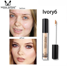 makeup eyes cosmeticos  bb glow Makeup Mini Concealer Foundation Repair Nourish Test Tube Oil Control Liquid 7ML