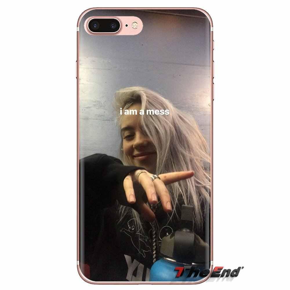 Billie Eilish Khalid Molle Trasparente Della Copertura Della Pelle Per Huawei G7 G8 P7 P8 P9 P10 P20 P30 Lite Mini Pro P di Smart Plus 2017 2018 2019