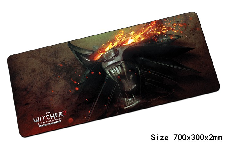 witcher padmouse 700x300mm pad to mouse notbook computer mousepad hot sales gaming mouse pad gamer to cool laptop mouse mat