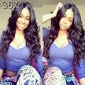 150 Density Peruvian Lace Front U Part Human Hair Wigs Glueless Full Lace U Part Wigs Brazilian Upart Wig Hair Body Wave