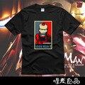 Homem de ferro Tony Stark Revengers t-shirt curto-manga comprida T-shirt camiseta 100% algodão freeshipping dos homens das mulheres