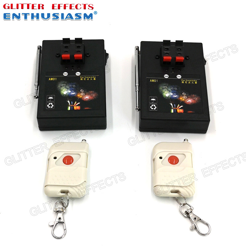 2pcs/lot AM01R remote control single channel 1 and 2 cue receivers stage effects wedding light machine2pcs/lot AM01R remote control single channel 1 and 2 cue receivers stage effects wedding light machine