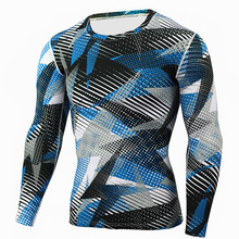 Clothings Compression-Shirts Fitness-Sportswear Long-Sleeves Workout Jerseys Tight Exercise
