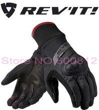 2016 Новый REV'IT! кратер WSP мотоцикл езда перчатки revit мотогонщиков перчатки водонепроницаемый ветрозащитный черный размер S, M, L, XL