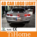 Free Shipping  4D LED Car LOGO Light/Lamp,4D LED Car Badge Light For Chevrolet Camaro and Aveo