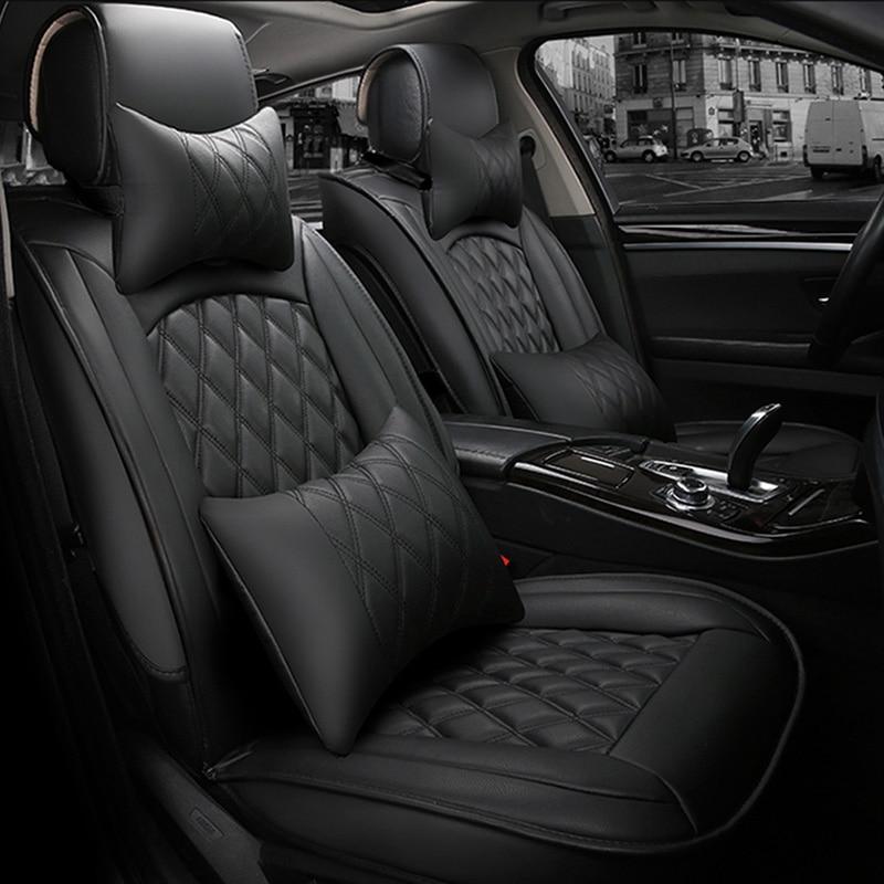 Housse de siège de voiture universelle pour lada 2107 2114 granta vesta priora kalian largus xray niva protecteur de siège de voiture accessoires Auto