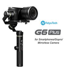 FeiyuTech G6 Plus 3 Axis Gimbal Strabilizer Handheld Bluetooth Wifi Gimbal for GoPro Smartphone Mirrorless Cameras Feiyu G6P(China)