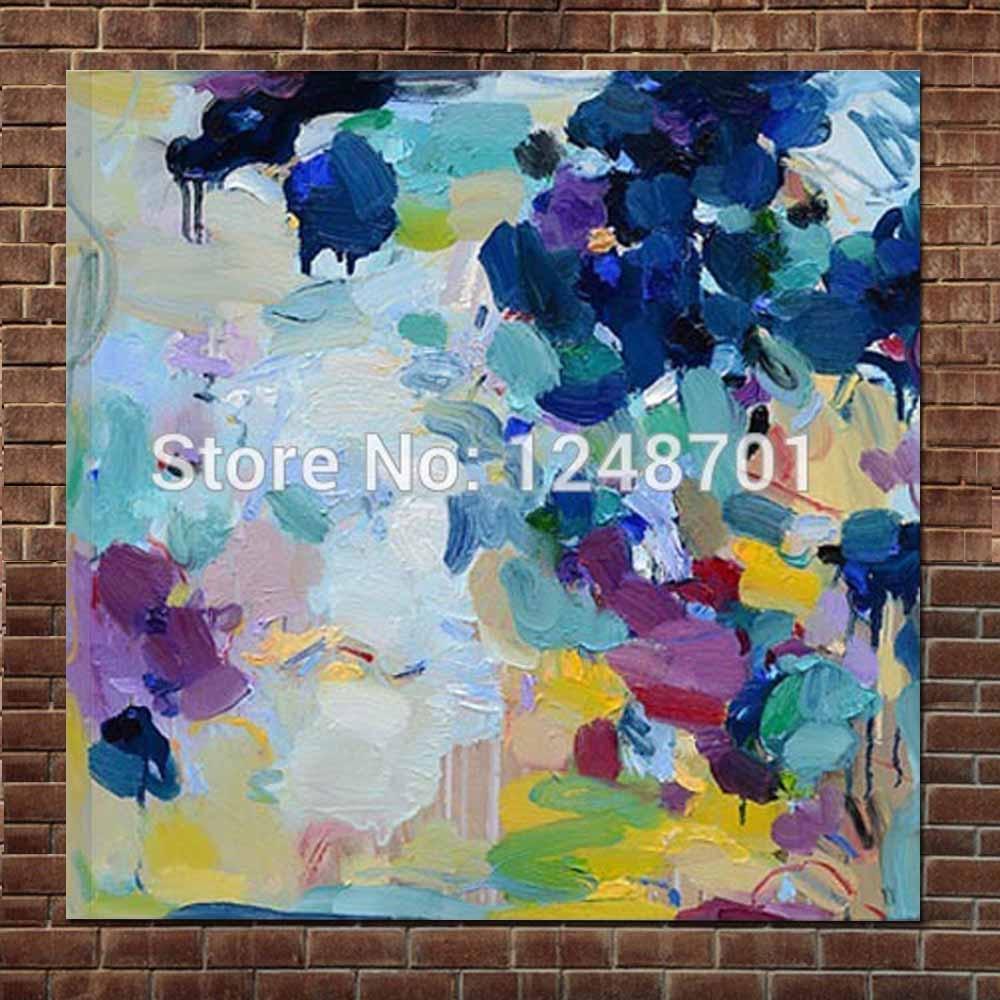 Velké moderní plátno Abstraktní olejomalba ruční výtvarné umění abstraktní zeď obrázek obývací pokoj hotel kancelář domácí nástěnná dekorace