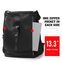 XINCADA Flip Cover Designs Backpack 16L Large Capacity Fashion Male School Bag For Teenage Boy Unique Multiple compartment