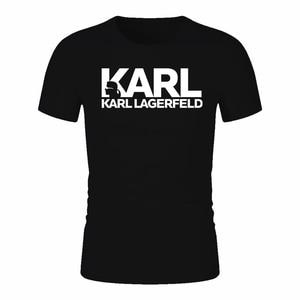 Karl Lagerfeld T shirt women Unisex summer 2019 Vogue Short Sleeve Funny T Shirts Harajuku Tumblr Karl Who Tshirt femme