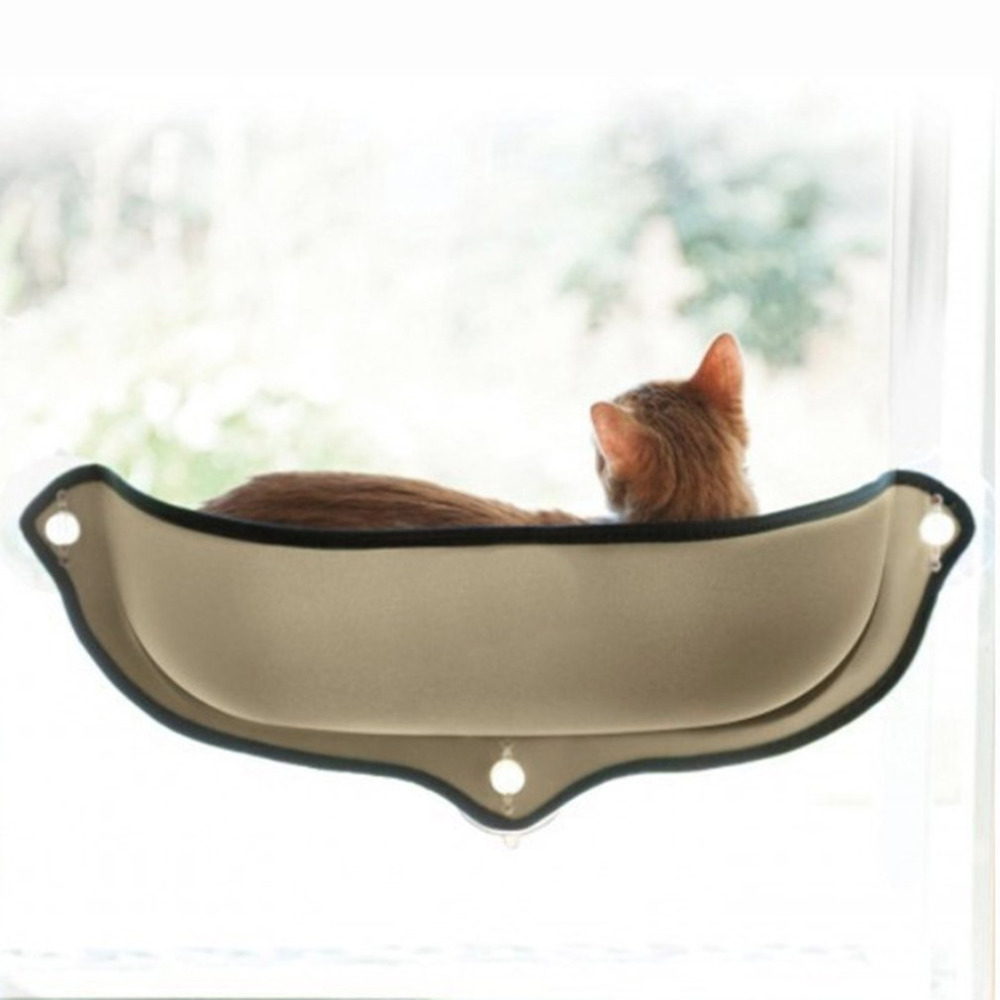 Terrific Cat Hammock Cat Perch Window Seat Suction Cups Space Saving Pet Resting Seat Soft Swing Bed Sunbath For Cats With Cushion Machost Co Dining Chair Design Ideas Machostcouk