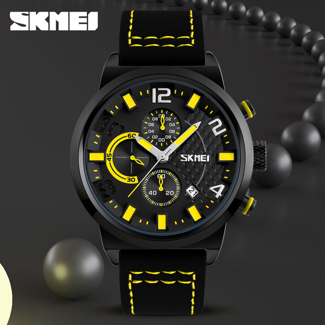 Casual Sport Watches Men Waterproof Quartz Watch 5