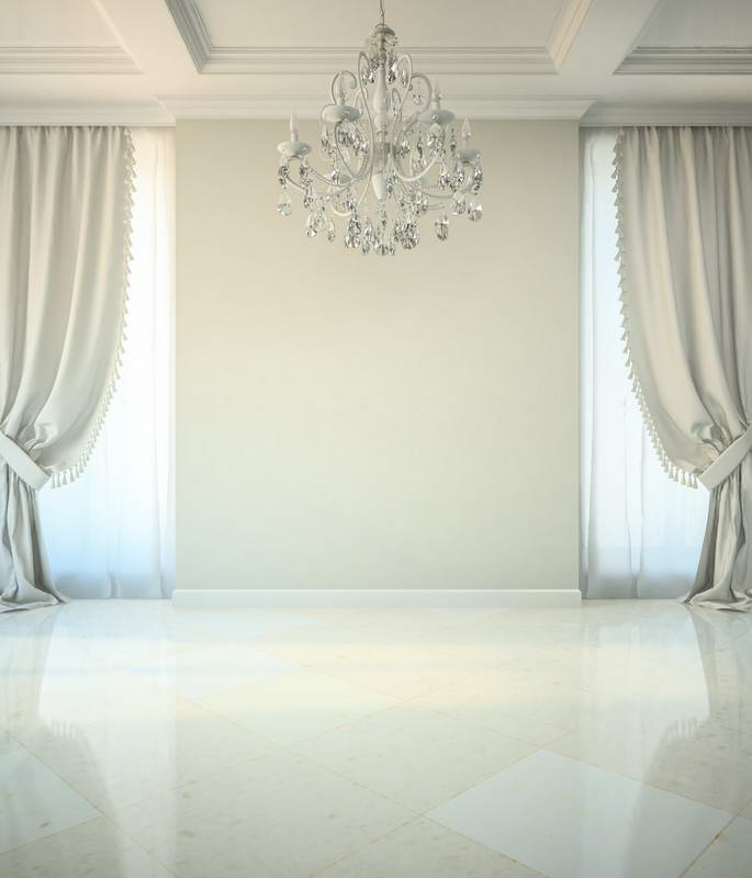 Aliexpress Com Buy Pure White Curtain Palace Wedding