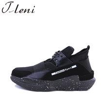 Tleni 2018 Classics Men Walking Shoes Adults Athletic Gym Shoes Lace Up Outdoor Sneakers Sports Shoes Male Trainers ZC-68