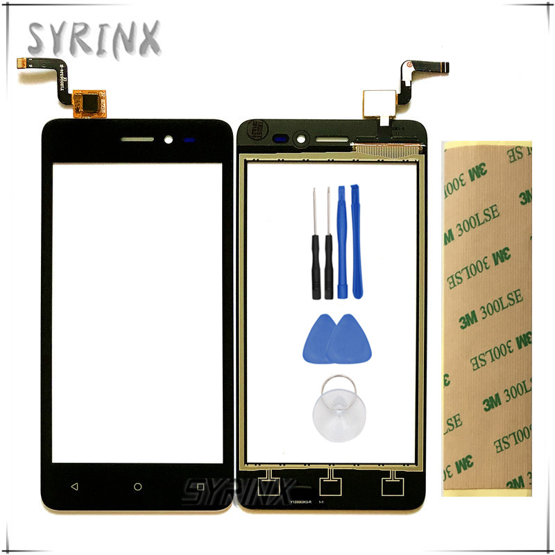 Syrinx With 3M Tape Tools Touchsceen For beeline pro6 pro 6 Moible Phone Touch Screen Digitizer Panel Glass Sensor ReplacementSyrinx With 3M Tape Tools Touchsceen For beeline pro6 pro 6 Moible Phone Touch Screen Digitizer Panel Glass Sensor Replacement