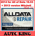 2017 Super News! V 10.53 alldata coming! auto repair software diagnostic tool for alll of data +mitchell 2013 include DHL FREE !