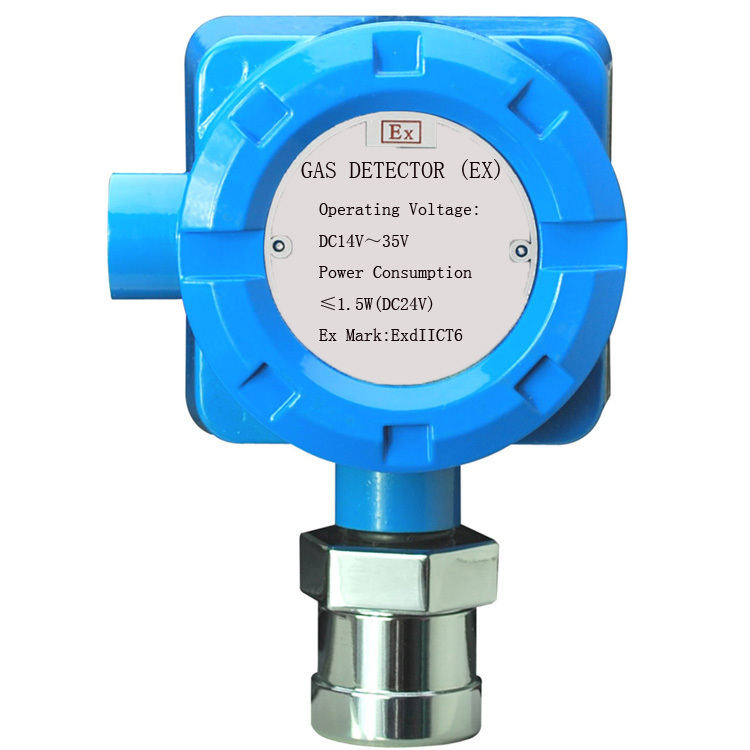 Explosion-proof gas detector with relay output  4 wire gas alarm  work with any panel  DC24V