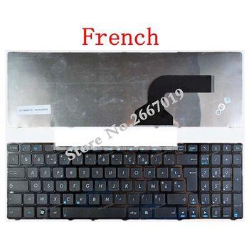Francês para Asus K52 K52F K52J K52N K52DE K52JB K52JC K52JE K53SV A72 A72D A72F A72J N50 N50V K53SC com quadro FR teclado do laptop