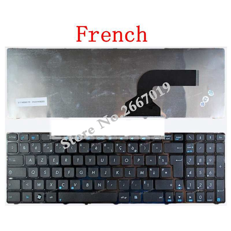 все цены на French for Asus K52 K52F K52J K53SV K52DE K52JB K52JC K52JE K52N A72 A72D A72F A72J N50 N50V K53SC with frame FR laptop keyboard онлайн