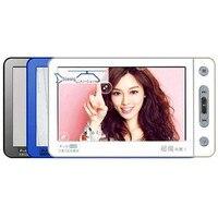 DOOR. ideaal Mp5-speler MP4 Muziekspeler 8G 5 Inch Touchscreen Ondersteuning TV Out Muziek Video-opname foto Calculator E-woordenboek