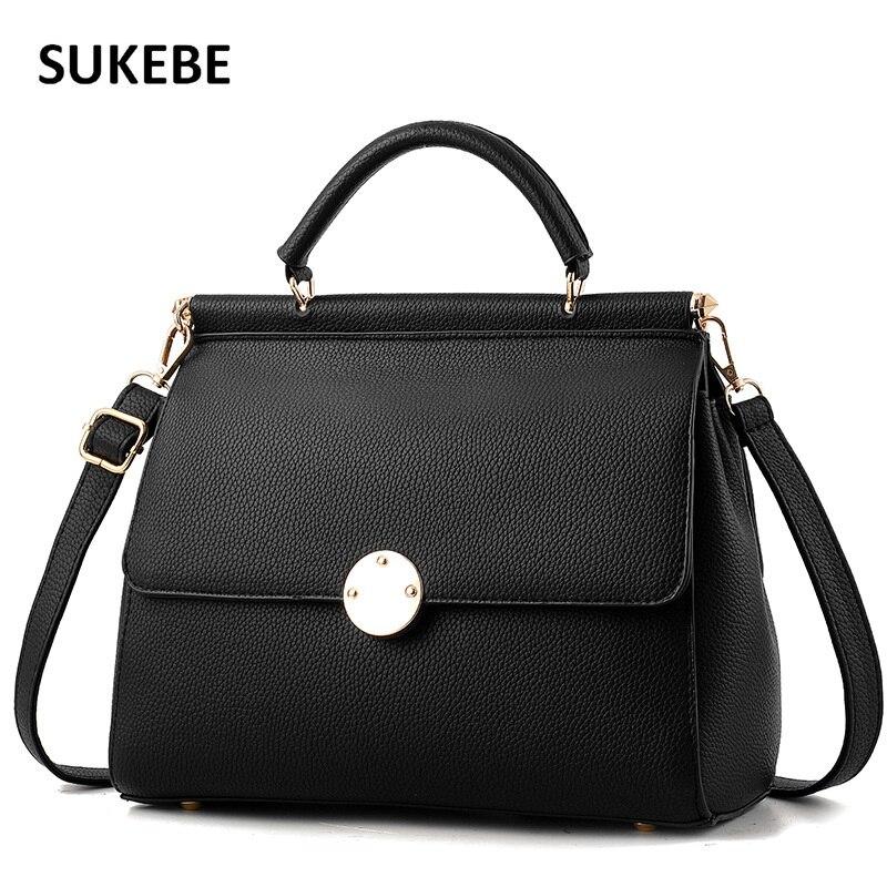 Women Bags 2017 New Women Fashion Bag Famous Brand Handbag Shoulder PU Leather Handbag Women Messenger Bags