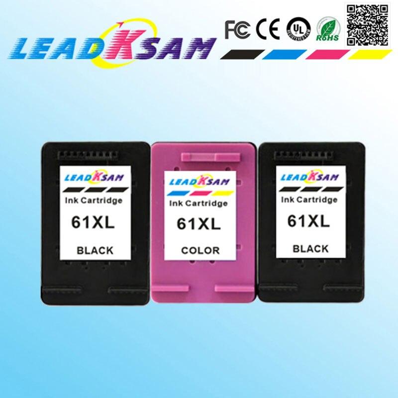 2PK 61XL Ink Cartridge Combo Set for HP OfficeJet 2620 4630 4632 4634 4635 8040
