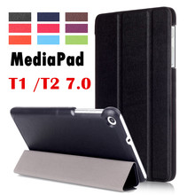 For Huawei MediaPad T2 7.0 BGO-DL09 BGO-L03 tablet case Flip Cover Leather Case For Huawei Mediapad T1 7.0 T1-701U T1-701UA