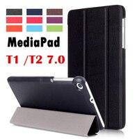 For Huawei MediaPad T2 7 0 BGO DL09 BGO L03 Tablet Case Flip Cover Leather Case