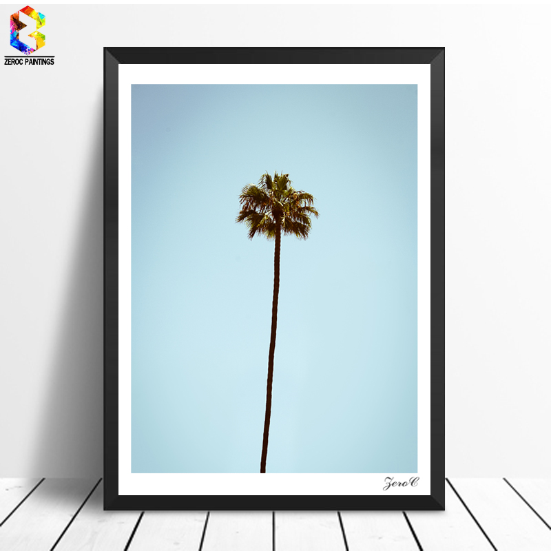 Aliexpress Buy Tropical Minimalist Palm Posters And Prints Wall Art Canvas Painting Pictures For Living Room Scandinavian Home Decor From Reliable