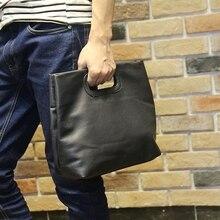 ใหม่แนวโน้มของผู้ชายแฟชั่นกระเป๋าถือกระเป๋าเอกสารแพคเกจกระเป๋าชายถุงที่เดินทางมาพักผ่อน