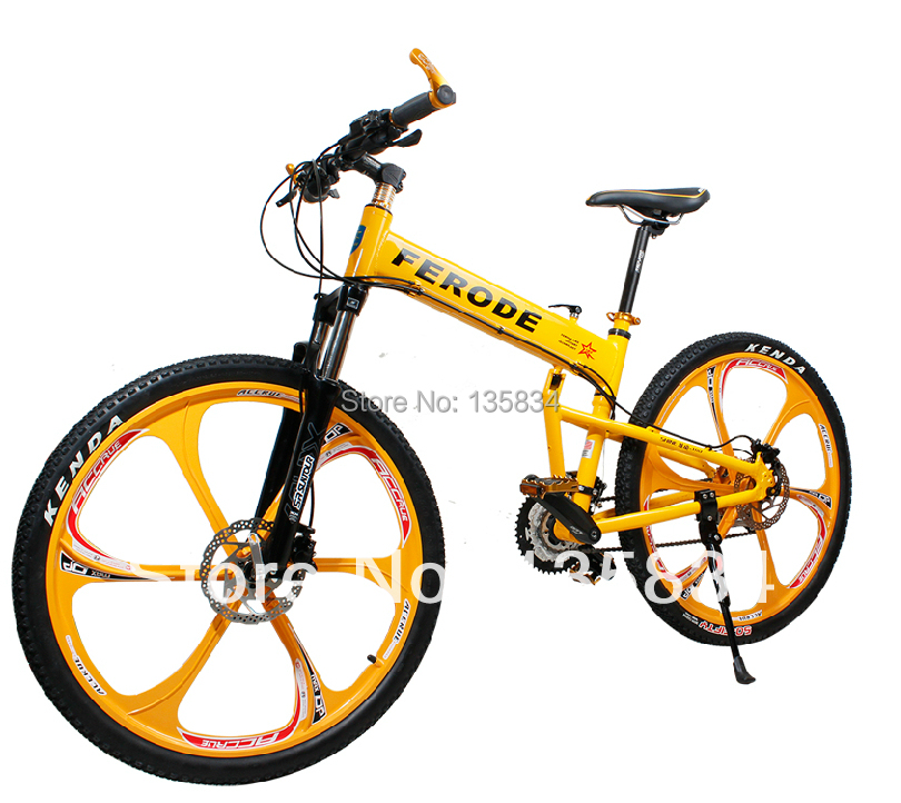 B20 Frde 27 Sds Mens Mountain Bike 26 Bicicleta Bycycle Outdoor Elliptical Bikes Oil Disc Break Folding Bicycle In From Sports