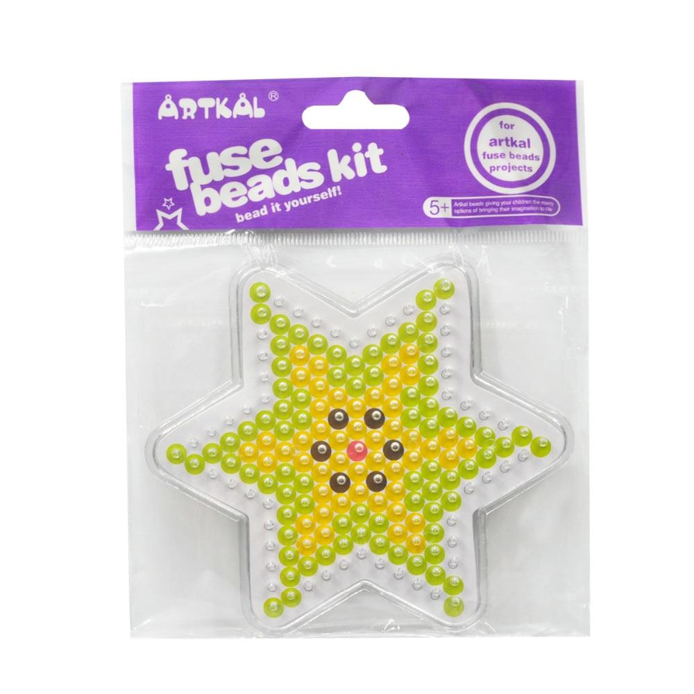 Бисер artkal Midi 5 мм полный Pegboards набор для Perler Beads дизайн DIY Забавные игрушки ручной работы