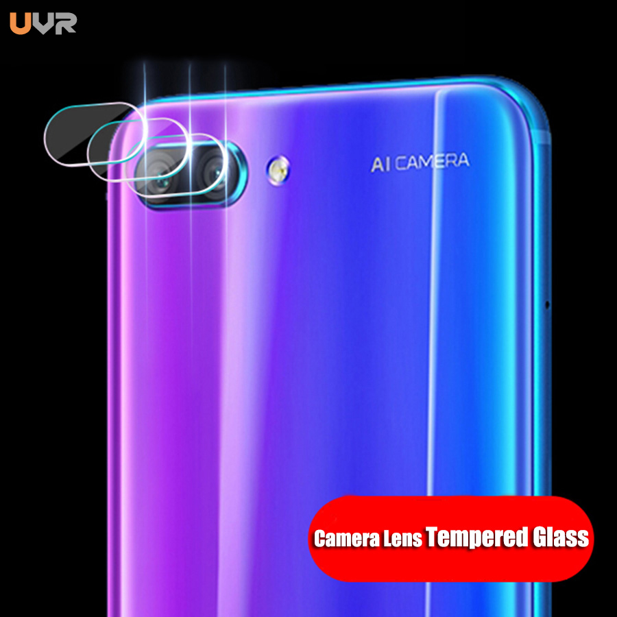 UVR 1Pcs/lot Anti-Scratch Camera Lens Protector Cover for Huawei Honor 10 Tempered Glass Protective Film Clear