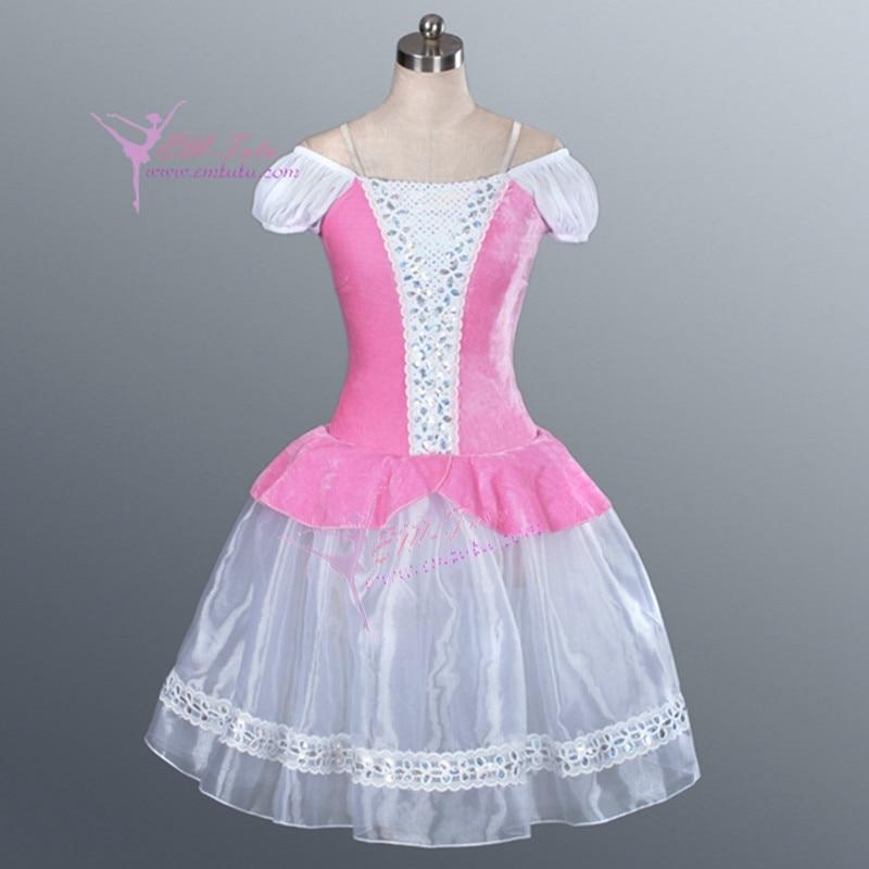 Child Adult Pink Giselle Romantic Tutu Fairy Ballerina ...