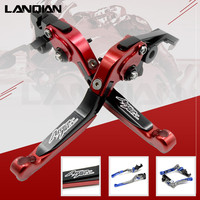 12 Colors For Honda CRF1000L Africa Twin 2015 2018 CNC Motorcycle Adjustable Folding Brake Clutch Lever CRF 1000L CRF 1000 L