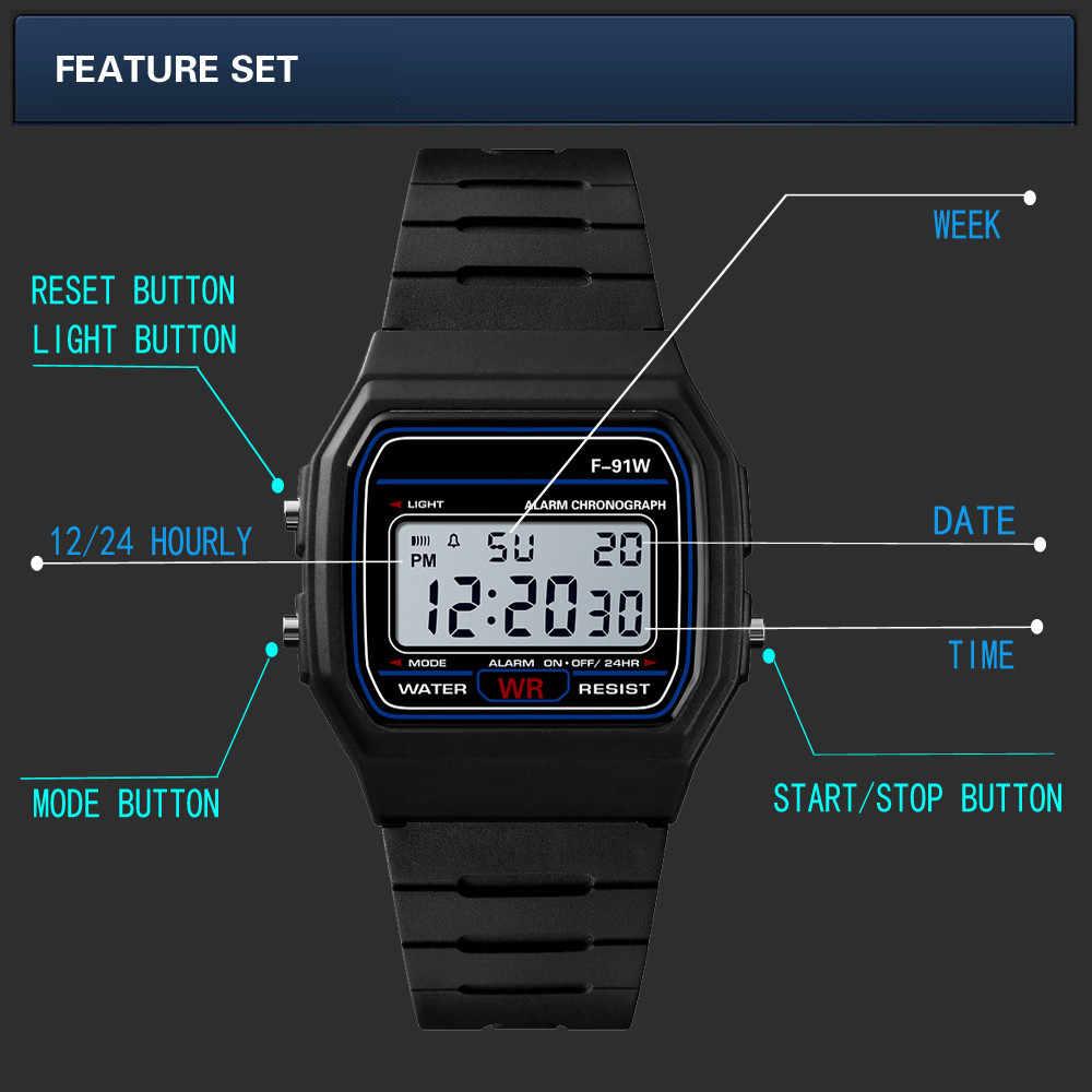 Роскошные Мужские аналоговые цифровые военные армейские спортивные светодиодные водонепроницаемые наручные часы Мужские часы erkek kol saati 50