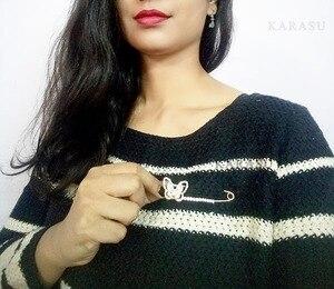 Набор металлических штифтов в виде стрелы и сердца, большой размер, рубашка, вуаль, хиджаб, шарф, розы, медведи, крыльев Ангела, жемчужный бантик, звездная брошь с рыбой для женщин
