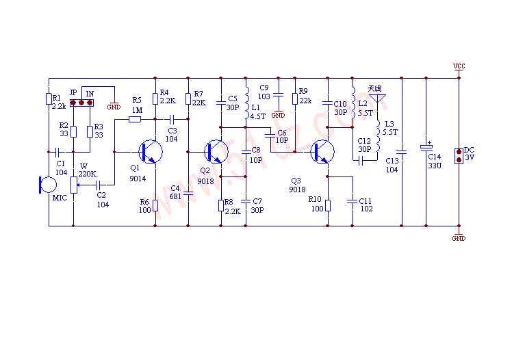 DC 1.5V-9V ไมโครโฟนไร้สาย FM DIY ชุด DIY สำหรับอิเล็กทรอนิกส์การเรียนรู้ชุด 80MHz-108MHz