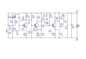 Image 2 - DC 1.5V 9V FM Kit de bricolage micro sans fil pièces de bricolage pour Kits dapprentissage électronique 80MHz 108MHz