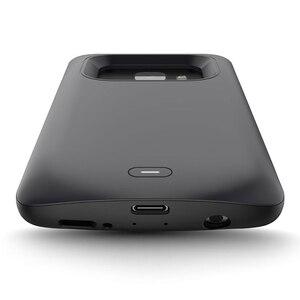 Image 5 - סוללה מקרה עבור סמסונג גלקסי S9 S8 בתוספת סוללה כוח אלחוטי טעינת Powerbank מקרה כוח בנק עבור סמסונג הערה 8 הערה 9