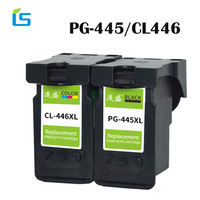 2Pcs/set PG 445XL PG445 CL 446 XL Refilled Ink Cartridge Replacement for Canon PG 445 CL 446 for Canon PIXMA MX494 MG2440 MG2540